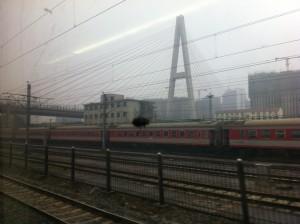 Vom Zug aus // 坐火车