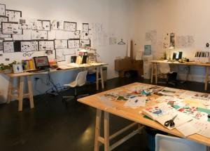 Xu Bings Atelier // 徐冰工作室