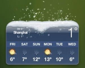 Shanghai // 10. Januar 2012 // 13.38 Uhr (Ortszeit)